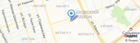 Solo на карте Алматы