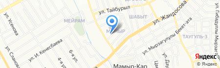 Помощница на карте Алматы