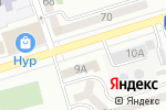 Схема проезда до компании Думан в Алматы
