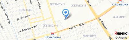 Строим Сами на карте Алматы