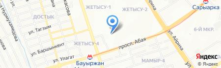 Luxury на карте Алматы