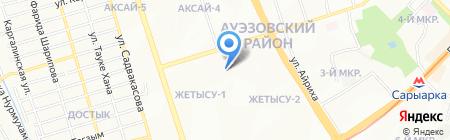 Uniflex Sport Shop на карте Алматы