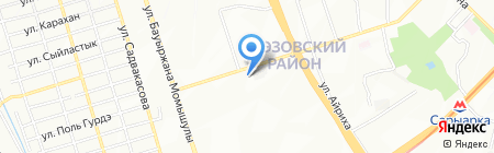 Агат на карте Алматы