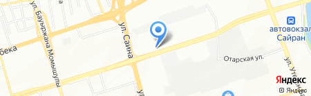 NURSU PLUS на карте Алматы