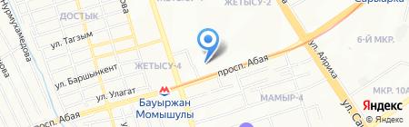 Glamour на карте Алматы