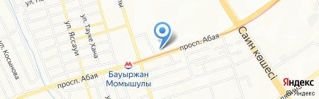 Амур-Автопрофи на карте Алматы