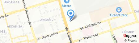 Удача продуктовый магазин на карте Алматы