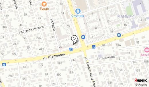 Настольная книга руководителя. Схема проезда в Алматы