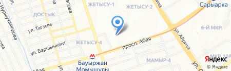 Ару продовольственный магазин на карте Алматы