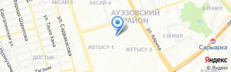 Uniflex на карте Алматы