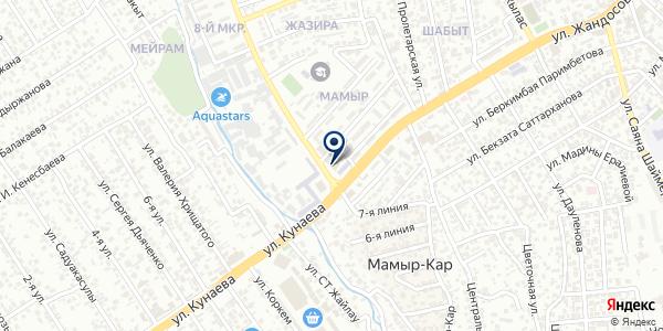 Davt, ТОО на карте Алматы