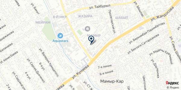 Мария, ТОО на карте Алматы