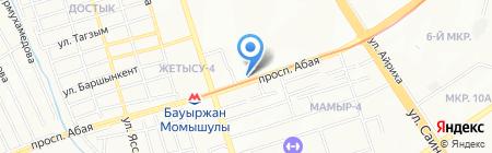 MH Doner на карте Алматы