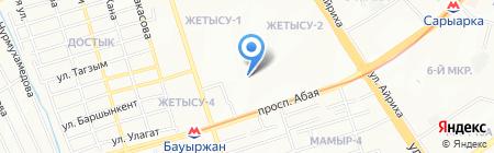 Art Stom на карте Алматы