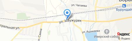 Астана продуктовый магазин на карте Алматы