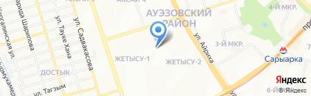 KazTen на карте Алматы