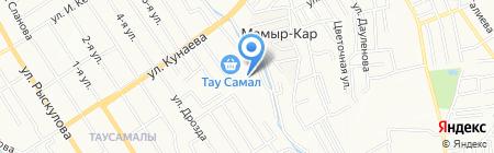 Центр крепежа на карте Алматы