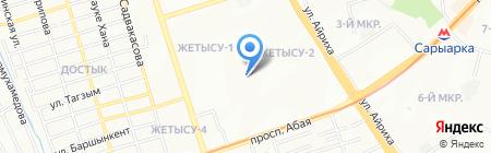 KAZASHKA на карте Алматы