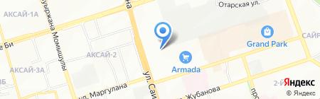 Аварийная служба на карте Алматы