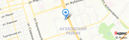 Почтовое отделение связи №63 на карте Алматы