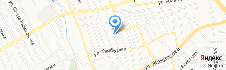Unex Stroy на карте Алматы