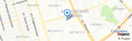 Болат на карте Алматы