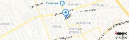Real Soft на карте Алматы
