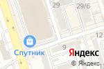 Схема проезда до компании Овощной павильон в Алматы
