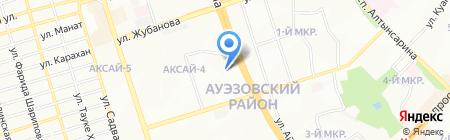 Нурдаулет на карте Алматы