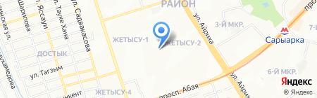 Ясли-сад №160 на карте Алматы