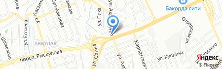Уримчи на карте Алматы