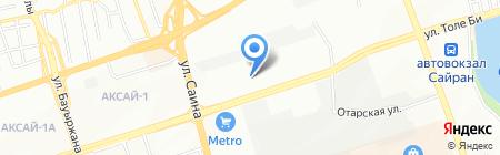 VG Сервис на карте Алматы