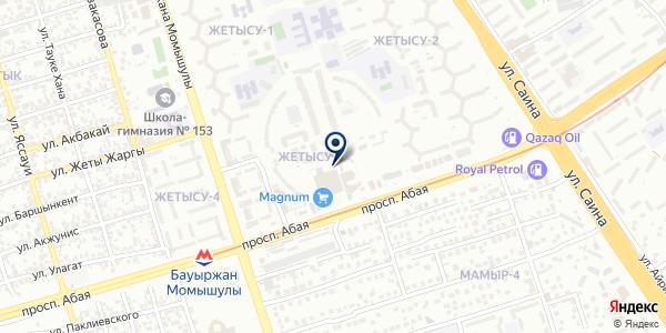 Fadel` на карте Алматы