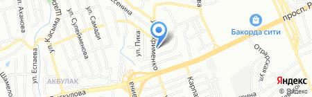 Кыпшак на карте Алматы