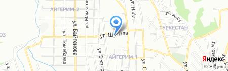 Общеобразовательная школа №149 на карте Алматы