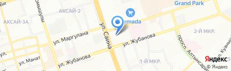 Алматинский строительно-технический колледж на карте Алматы