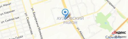 Фантазия на карте Алматы