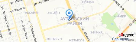 ANEL на карте Алматы