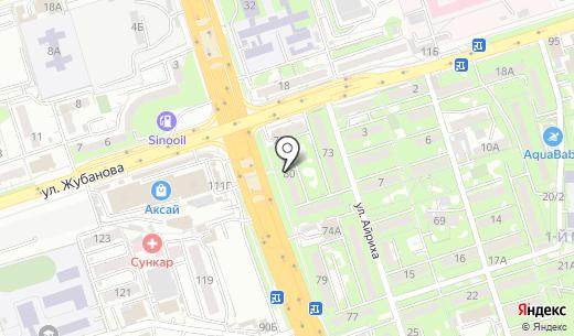 Кенен Консалт. Схема проезда в Алматы