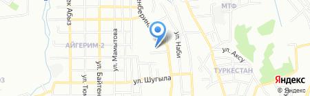Молдир су технологиясы на карте Алматы