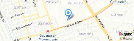 Альфа Education на карте Алматы