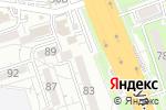 Схема проезда до компании Шарм в Алматы