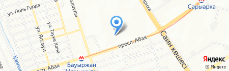 FOSTECH DATA на карте Алматы