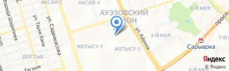 Bemani на карте Алматы