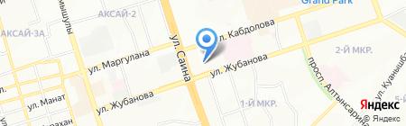 Альбион на карте Алматы