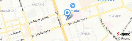 ОАД-27 на карте Алматы