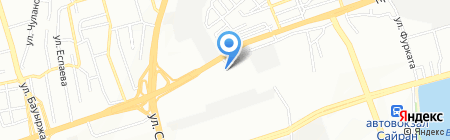 Тайкен на карте Алматы
