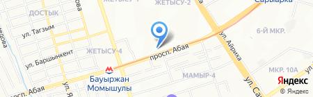 КазРоссБел на карте Алматы