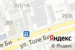 Схема проезда до компании Юлос, ТОО в Алматы