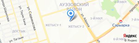 Talent на карте Алматы